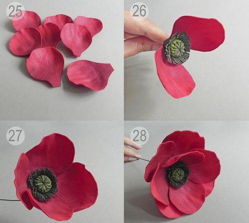 Изделия из фоамирана: оформление цветами, фото и схемы своими руками, мастер-класс для начинающих, корзина
