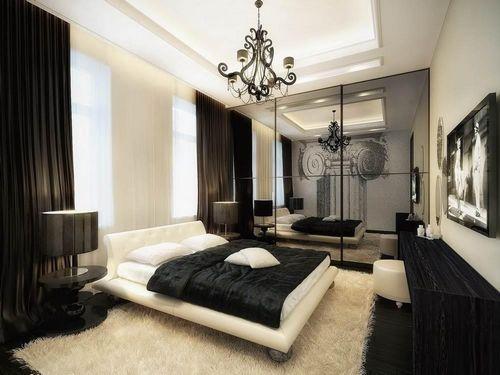 шикарная спальня королевская элитная мебель фото роскошных дорогих