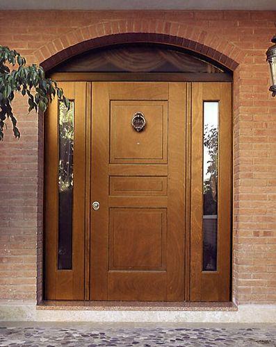 Входные деревянные двери для частного дома утепленные своими руками 20
