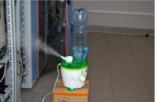 Увлажнитель воздуха из бутылки своими руками 825
