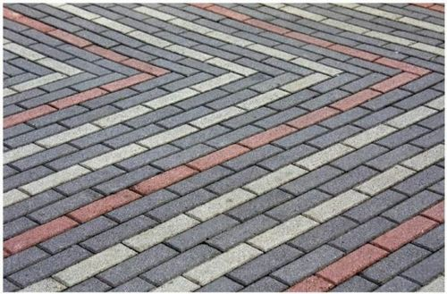 Варианты укладки тротуарной плитки кирпич