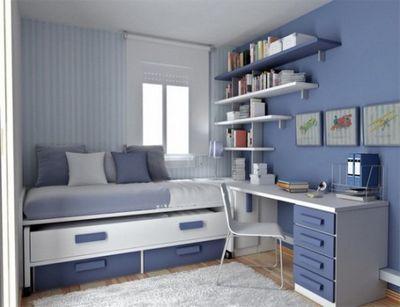 Комната для 2 подростков мальчиков дизайн 73