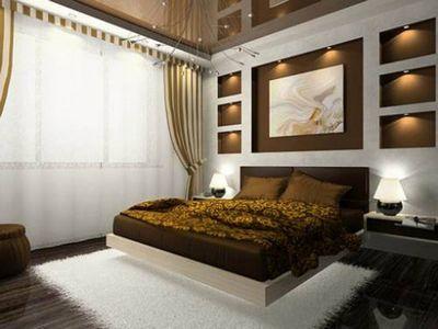 Дизайн спальни гостиной с перегородкой: варианты зонирования