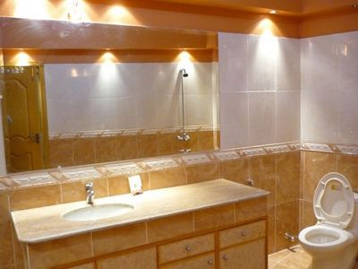 Contemporary bathroom wall lights