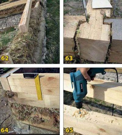Строительство из бруса своими руками пошаговая инструкция 2