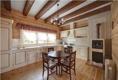 Интерьер кухни в стиле прованс: оформление декоративным камнем больших помещений, особенности средиземноморского дизайна