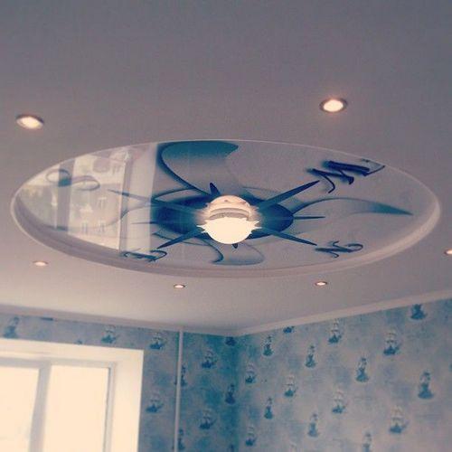 Подвесные потолки из гипсокартона своими руками пошаговая инструкция фото 558