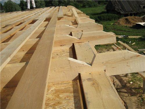 Двускатная крыша дома своими руками - инструкция по строительству!
