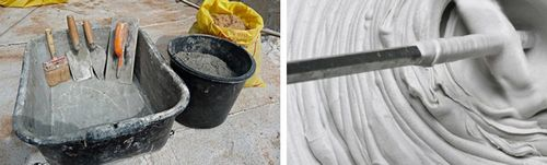 Как развести цемент: пропорции компонентов и технология приготовления смеси