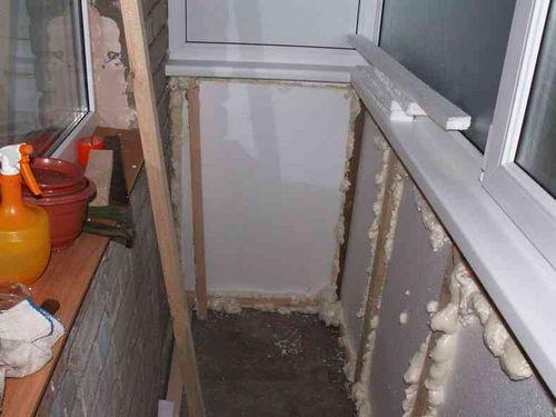 Отделка балкона своими руками пошаговая инструкция пластиковыми панелями 94