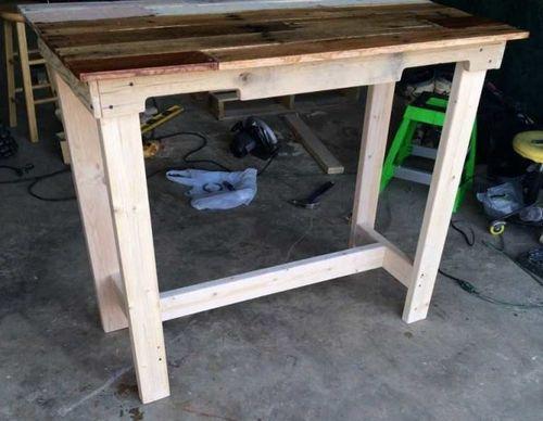 Как сделать стол из досок своими руками для дачи 805