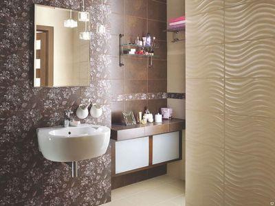 Варианты модной укладки плитки в ванную схемы и фото раскладки